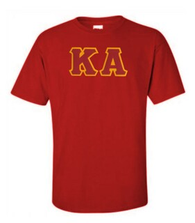 DISCOUNT Kappa Alpha Lettered T-shirt