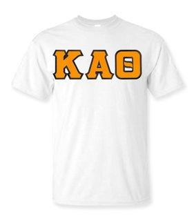 DISCOUNT Kappa Alpha Theta Lettered Tee