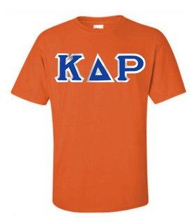 Kappa Delta Rho Custom Twill Short Sleeve T-Shirt