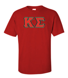 DISCOUNT Kappa Sigma Lettered T-shirt