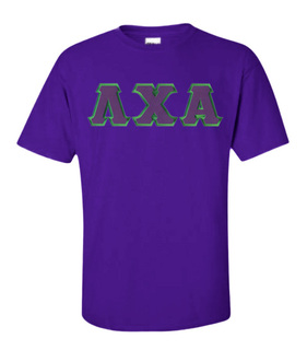 DISCOUNT Lambda Chi Alpha Lettered T-shirt