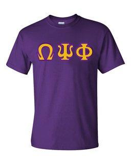 Omega Psi Phi Custom Twill Short Sleeve T-Shirt