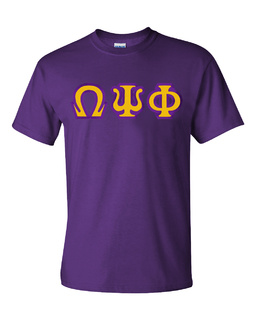 $15 Omega Psi Phi Custom Twill Short Sleeve T-Shirt