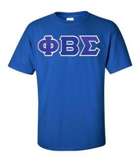 $15 Phi Beta Sigma Lettered T-shirt
