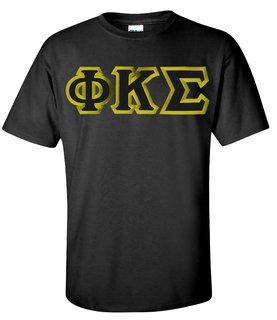 $15 Phi Kappa Sigma Custom Twill Short Sleeve T-Shirt