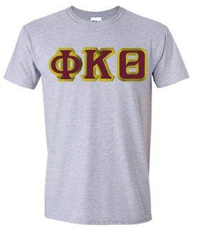 $15 Phi Kappa Theta Custom Twill Short Sleeve T-Shirt