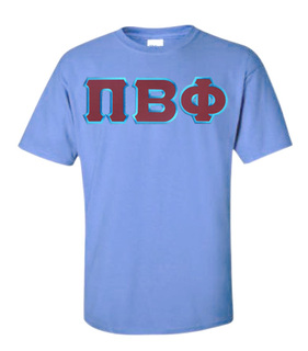 DISCOUNT Pi Beta Phi Lettered Tee