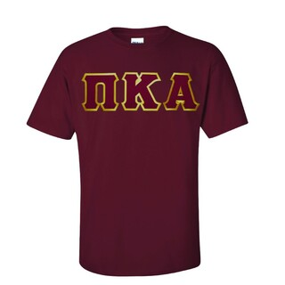 $15 Pi Kappa Alpha Lettered T-shirt