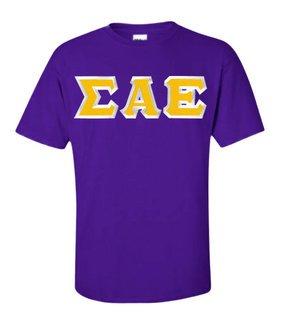 Sigma Alpha Epsilon Custom Twill Short Sleeve T-Shirt