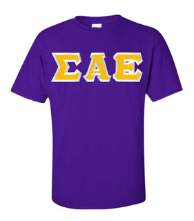 $15 Sigma Alpha Epsilon Custom Twill Short Sleeve T-Shirt