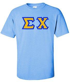 $15 Sigma Chi Custom Twill Short Sleeve T-shirts