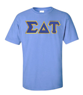 DISCOUNT Sigma Delta Tau Lettered Tee