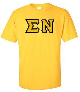 Sigma Nu Custom Twill Short Sleeve T-Shirt