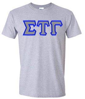 Sigma Tau Gamma Custom Twill Short Sleeve T-Shirt
