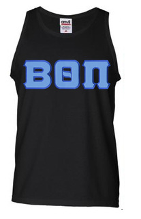DISCOUNT- Beta Theta Pi Lettered Tank Top