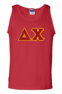 DISCOUNT- Delta Chi Lettered Tank Top