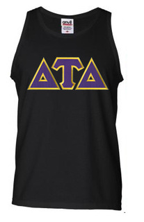 DISCOUNT- Delta Tau Delta Lettered Tank Top