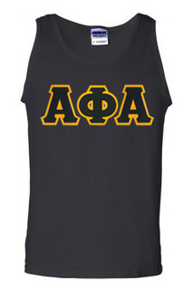 DISCOUNT- Fraternity Lettered Tank Top