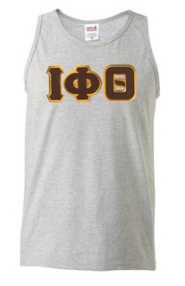 DISCOUNT- Iota Phi Theta Lettered Tank Top