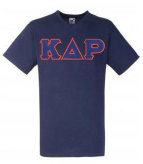DISCOUNT- Kappa Delta Rho Lettered V-Neck T-Shirt