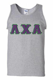 DISCOUNT- Lambda Chi Alpha Lettered Tank Top