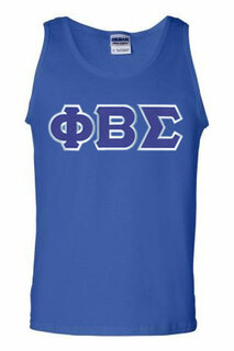 DISCOUNT- Phi Beta Sigma Lettered Tank Top