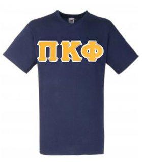 DISCOUNT- Pi Kappa Phi Lettered V-Neck T-Shirt