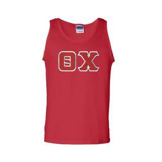 DISCOUNT- Theta Chi Lettered Tank Top
