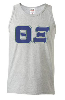 DISCOUNT- Theta Xi Lettered Tank Top