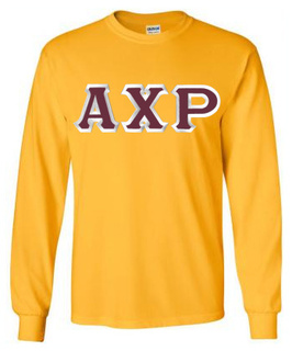 $19.99 Alpha Chi Rho Custom Twill Long Sleeve T-Shirt