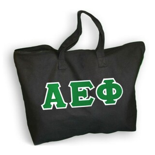 DISCOUNT- Alpha Epsilon Phi Lettered Tote Bag