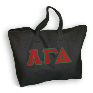 $19.99 Alpha Gamma Delta Lettered Tote Bag