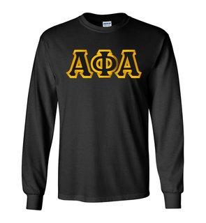 Alpha Phi Alpha Custom Twill Long Sleeve T-Shirt