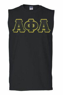 DISCOUNT- Alpha Phi Alpha Lettered Sleeveless Tee