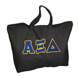 DISCOUNT- Alpha Xi Delta Lettered Tote Bag