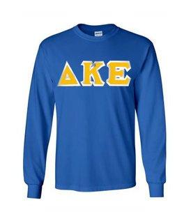 Delta Kappa Epsilon Custom Twill Long Sleeve T-Shirt