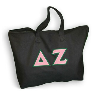 DISCOUNT- Delta Zeta Lettered Tote Bag