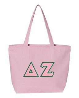 DISCOUNT- Delta Zeta Lettered Tote Bag