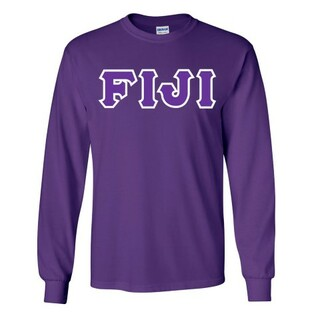 FIJI Fraternity Custom Twill Long Sleeve T-Shirt