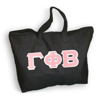 $19.99 Gamma Phi Beta Lettered Tote Bag