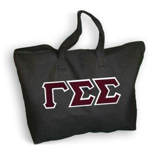 DISCOUNT- Gamma Sigma Sigma Lettered Tote Bag