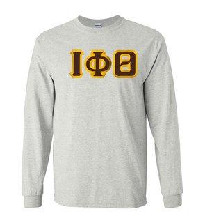 $19.99 Iota Phi Theta Custom Twill Long Sleeve T-Shirt