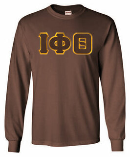 DISCOUNT Iota Phi Theta Lettered Long sleeve