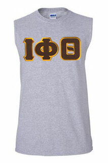 DISCOUNT- Iota Phi Theta Lettered Sleeveless Tee