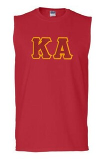 DISCOUNT- Kappa Alpha Lettered Sleeveless Tee