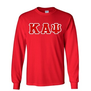 Kappa Alpha Psi Custom Twill Long Sleeve T-Shirt