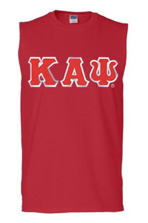 DISCOUNT- Kappa Alpha Psi Lettered Sleeveless Tee