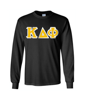 $19.99 Kappa Delta Phi Custom Twill Long Sleeve T-Shirt