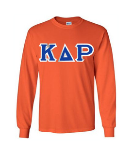 Kappa Delta Rho Custom Twill Long Sleeve T-Shirt