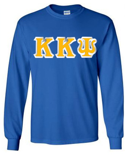 Kappa Kappa Psi Custom Twill Long Sleeve T-Shirt